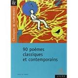 90 poemes classiques er contemporains
